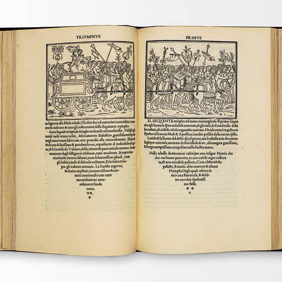Hypnerotomachia Poliphili, ubi humana omnia non nisi somnium esse docet atque obiter plurima scitu sanequam digna commemorat.