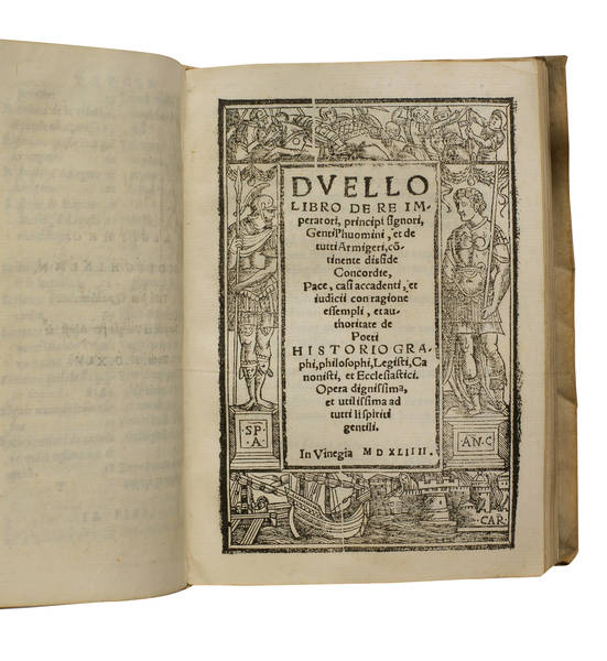 Duello. Duello, libro de re imperatorI. Vallo…,