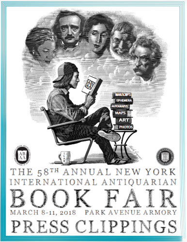 59th New York antiquarian book fair - March 7-10 2019