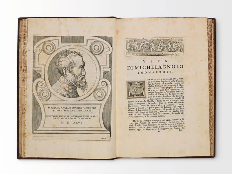 Vita di Michelagnolo Buonarroti pittore scultore architetto e gentiluomo fiorentino pubblicata mentre viveva dal suo scolare Ascanio Condivi
