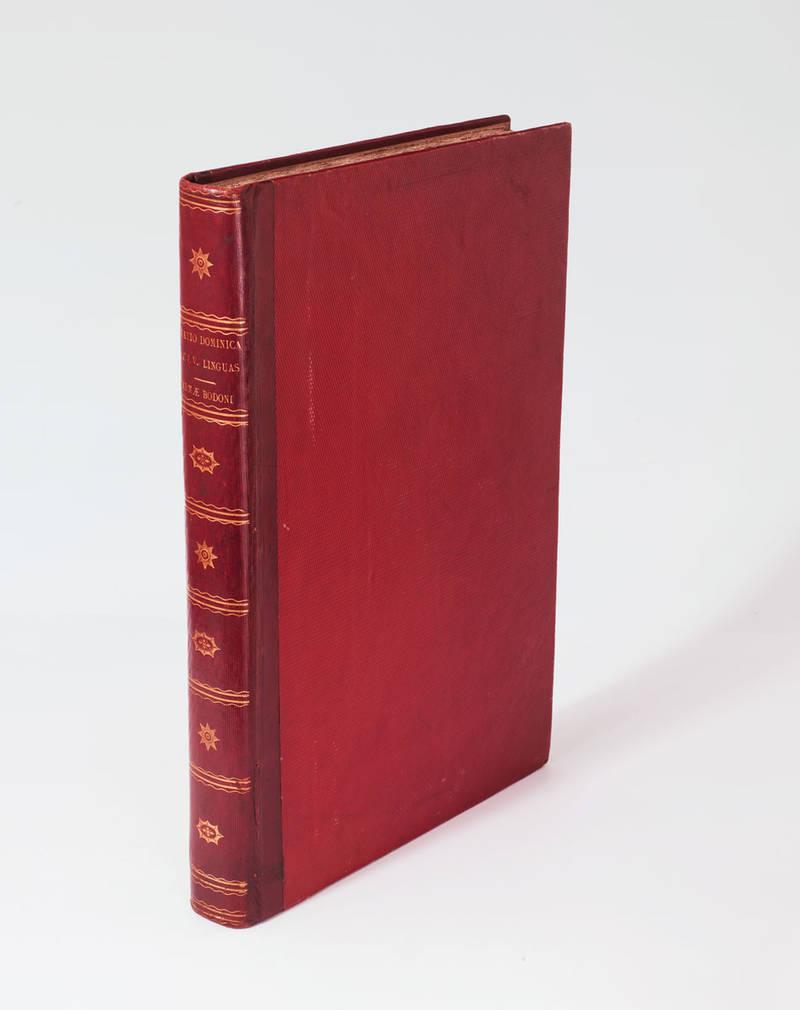 Oratio Dominica in CLV linguas versa et exoticis characteribus plerumque expressa