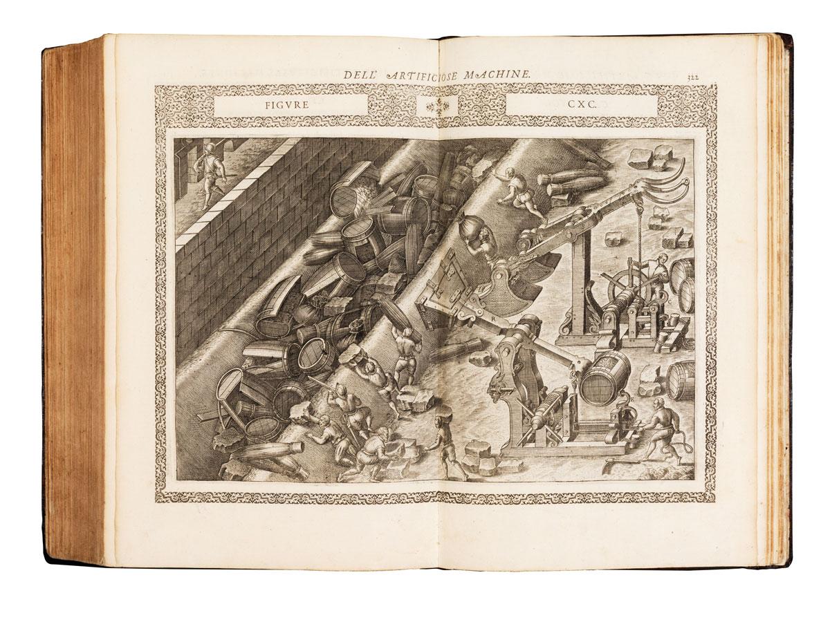 Le diuerse et artificiose machine del capitanoAgostino Ramelli dal ponte della Tresia ingegniero del christianissimo re di Francia et di Pollonia. Nellequali si contengono uarij et industriosi mouimenti, degni digrandissima speculatione, per cauarne benef