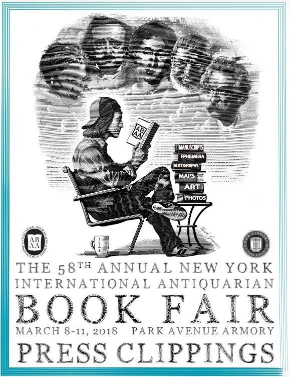 59th New York antiquarian book fair - March 7-10 2019